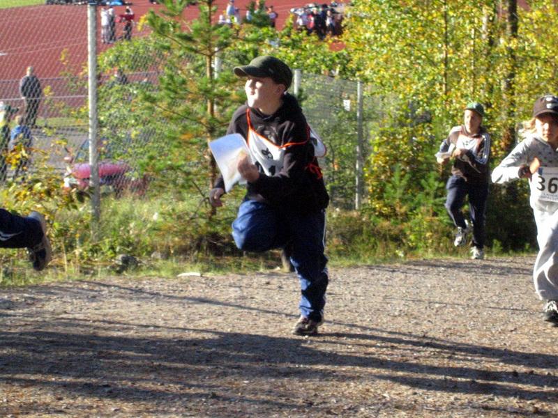 X Suunnistuksen Koululaiskisa 24.9.2008